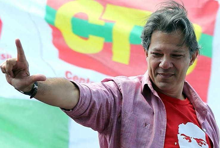 brasil, elecciones en brasil, fernando haddad, jair bolsonaro