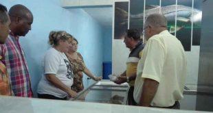 Caracusey, pescadería, Trinidad