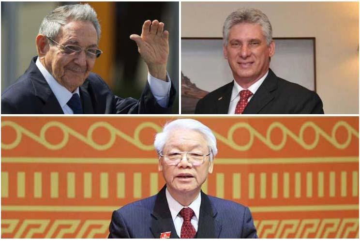 Cuba, Vietnam, Raúl Castro, Díaz-Canel