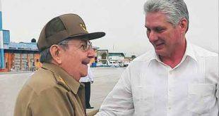 Díaz-Canel, Raúl Castro, gira