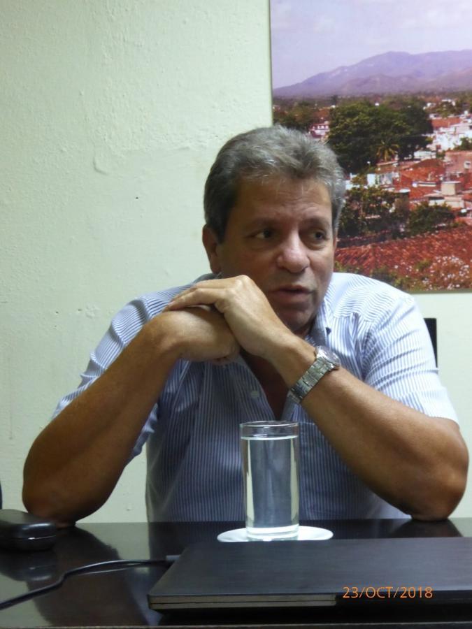 sancti spiritus, periodico escambray, victor gaute lopez, partido comunista de cuba