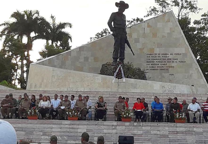 yagujay, frente norte de las villas, camilo cienfuegos, ejercito rebelde, ramiro valdes menendez