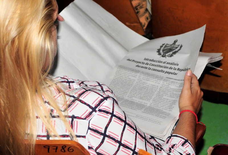 cuba, proyecto de constitucion, foro on line