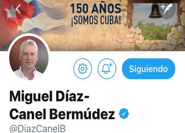 cuba, presidente de cuba, miguel diaz-canel, twitter, guerras de independencia, la demajagua, carlos manuel de cespedes