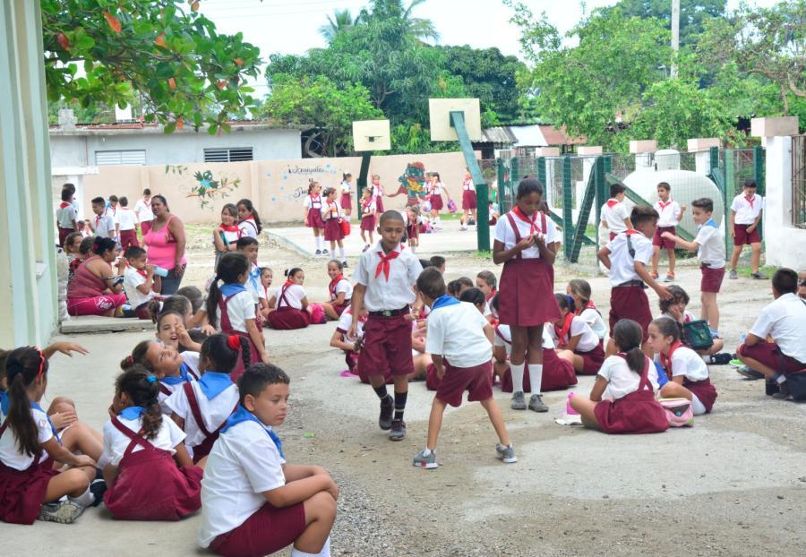sancti spiritus, educacion primaria, gusyos, cabaiguan