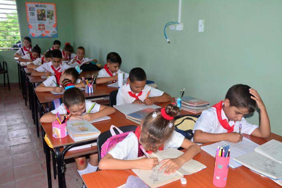 sancti spiritus, guayos, educacion primaria, cabaiguan