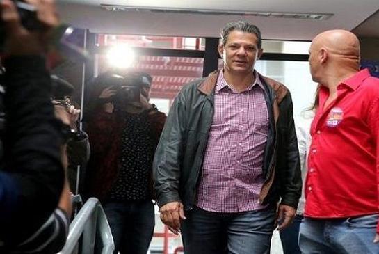 brasil, fernando haddad, brasil elecciones