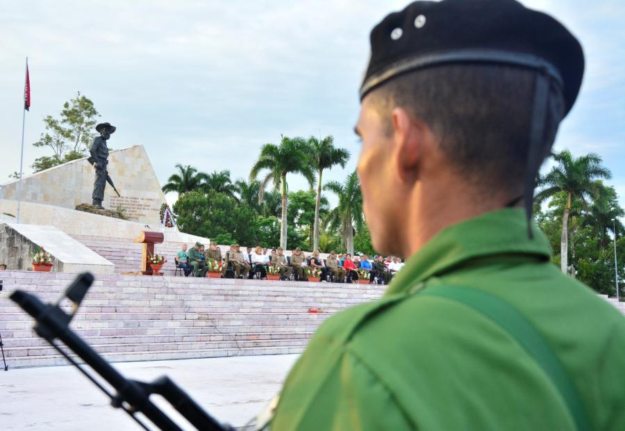 Sancti spiritus, frente norte de las villas, camilo Cienfuegos, yaguajay, ejercito rebelde, Ramiro valdes menendez, columna No 2 antonio maceo