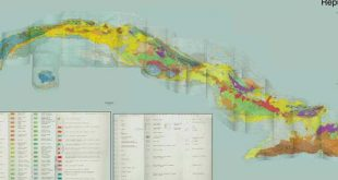 cuba, mapa geologico, geocuba