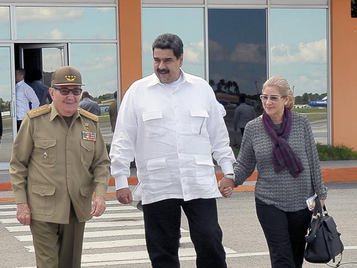 cuba, venezuela, raul castro, nicolas maduro
