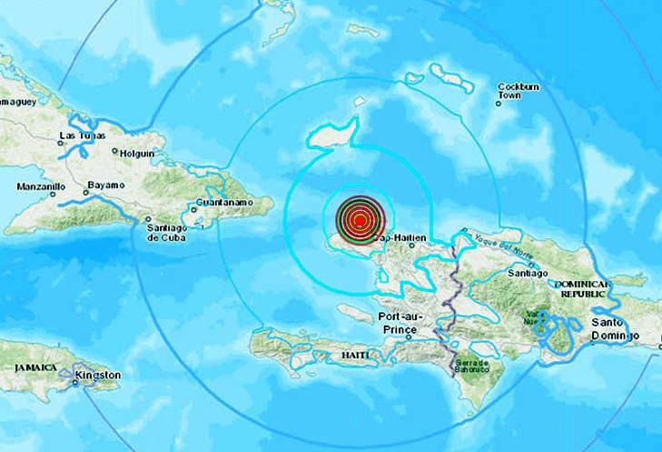 haiti, sismo, santiago de cuba, guantanamo
