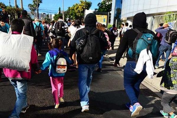 el salvador, estados unidos, migrantes