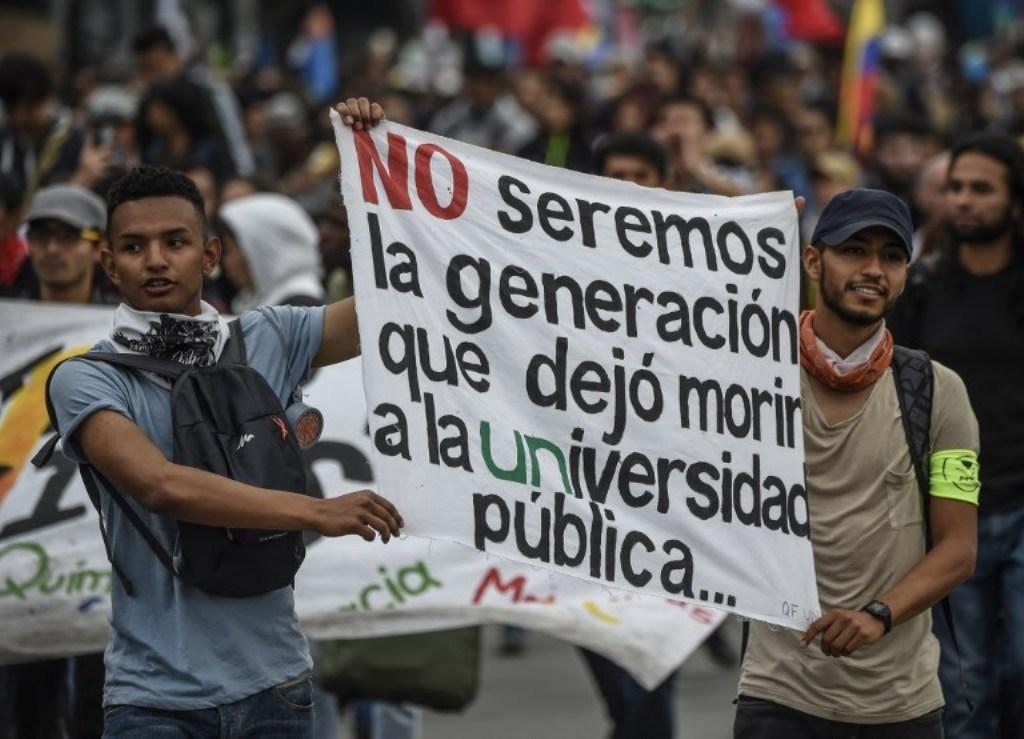 Colombia, protestas