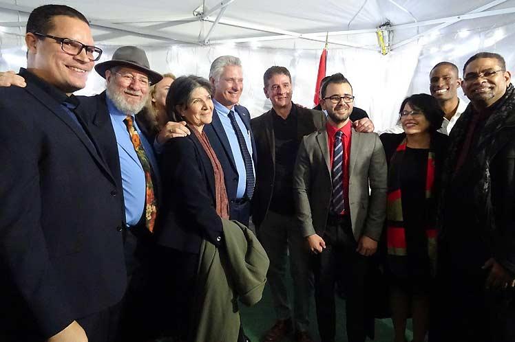 Díaz-Canel, Cuba, Reino Unido, solidaridad