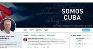 cuba, venezuela, ali rodriguez, miguel diaz-canel, presidente de cuba