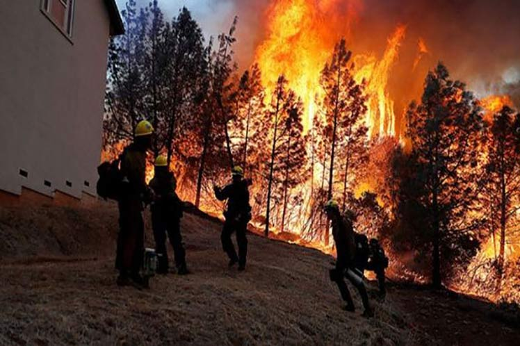 Estados Unidos, incendio, desastre natural