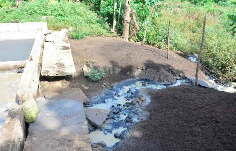 Fomento, rio agabama, medio ambiente, salud publica, recursos hidráulicos, cria de cerdos