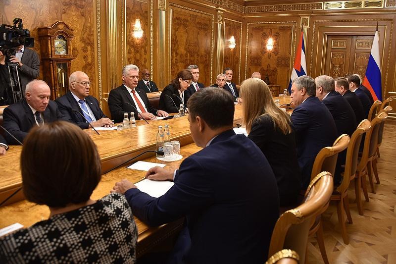 Cuba, Rusia, presidente de cuba en Rusia, Vladimir putin, miguel diaz-canel