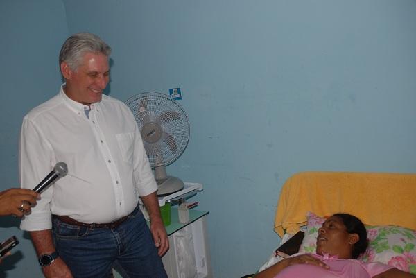 Díaz-Canel dialogue avec des habitants de communautés de Guantánamo