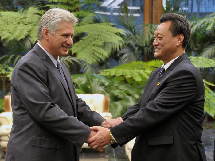 cuba, embajadores, cartas credenciales, miguel diaz-canel, presidente de cuba