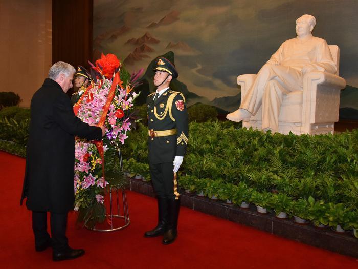 cuba, china, miguel diaz-canel, presidente de cuba en china