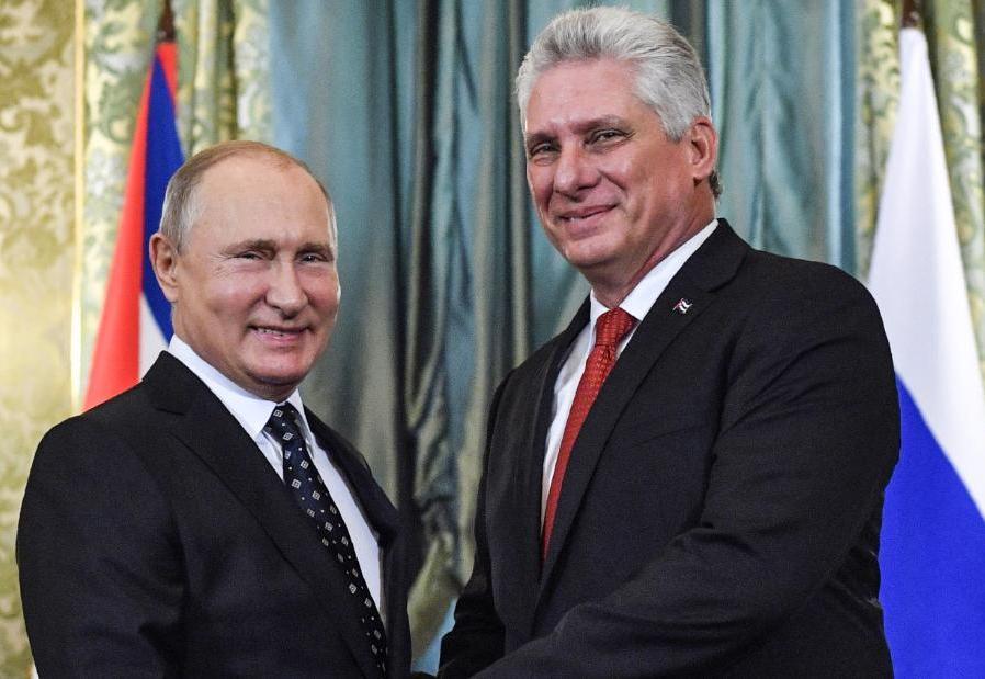 Afirma Putin que Rusia trabajará en modernizar economía cubana