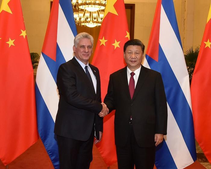 cuba, china, miguel diaz-canel, presidente de cuba en china, xi jinping