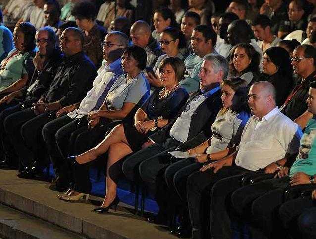 cuba, #fidelporsiempre, fidel castro, homenaje a fidel, miguel diaz-canel, presidente de cuba, universidad de la habana, jovenes cubanos