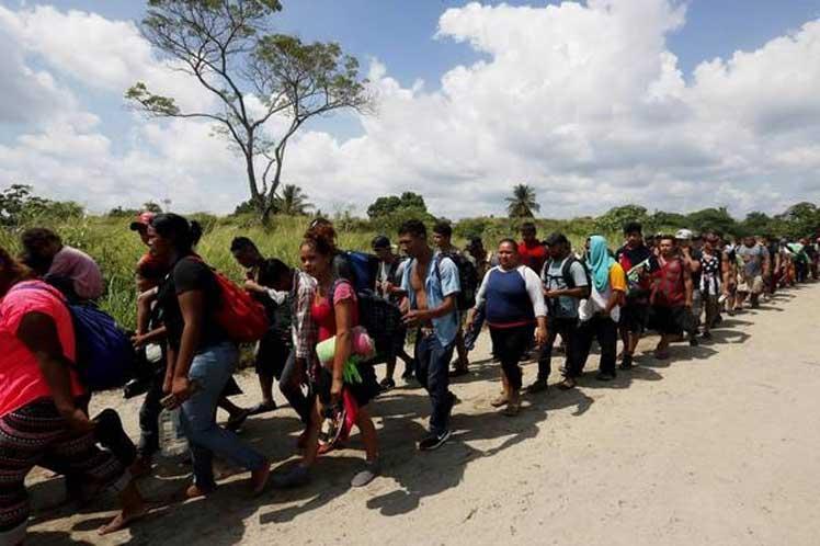 migrantes, estados unidos, donald trump, mexico
