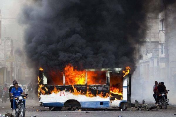 haiti, protestas