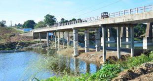 sancti spiritus, puente sobre el rio zaza, zaza del medio