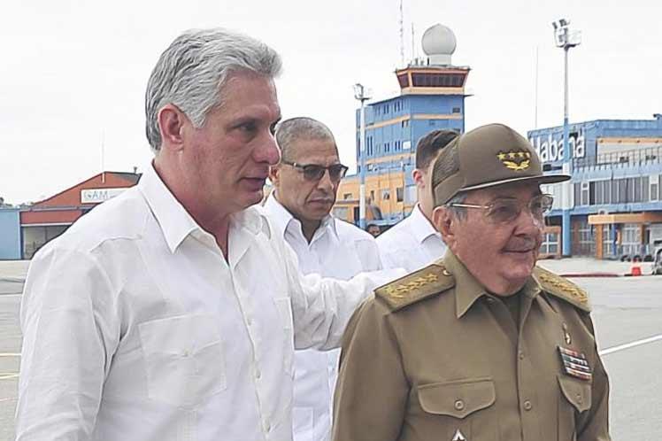cuba, presidente de cuba, miguel diaz-canel, reino unido