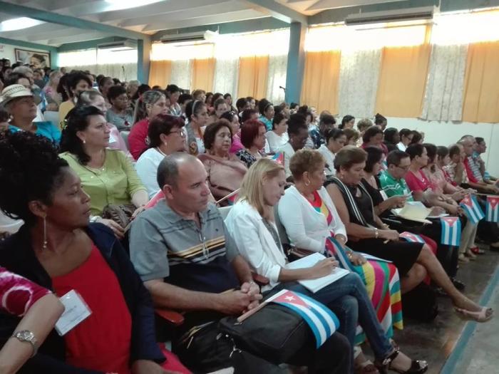 sancti spiritus, federacion de mujeres cubanas, X congreso de la fmc