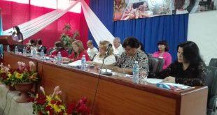 sancti spiritus, X congreso de la FMC, federacion de mujeres cubanas