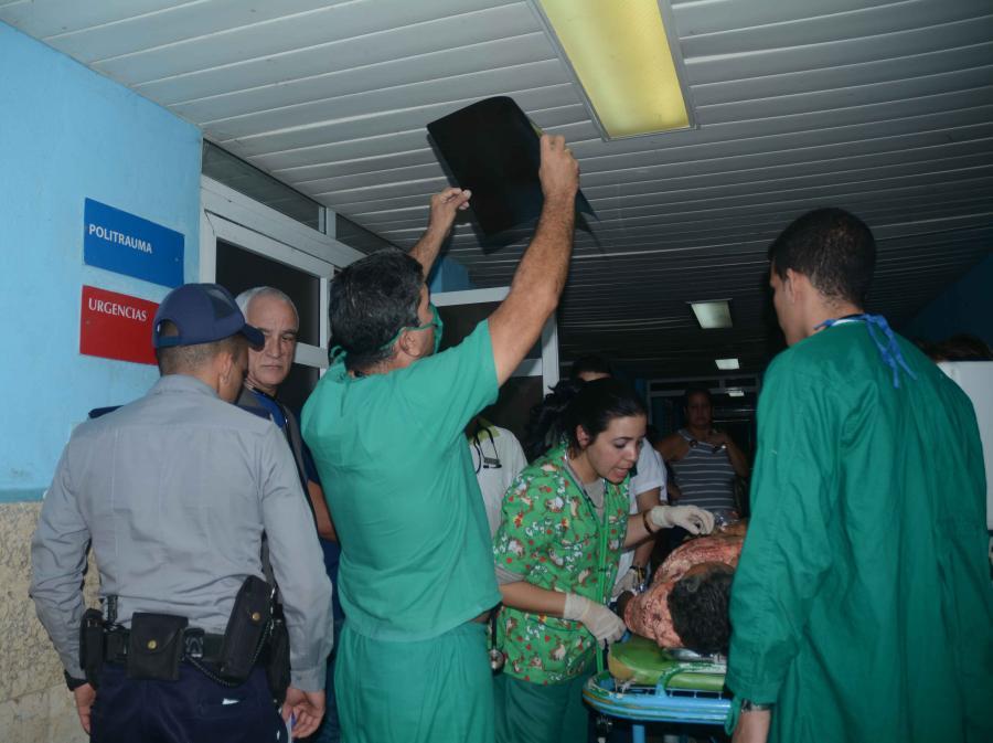 sancti spiritus, hospital provincial camilo cienfuegos, accidente de transito, jatibonico