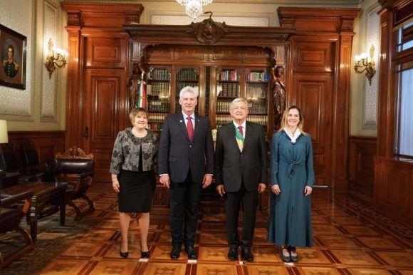 Cuba, Máxico, López Obrador, Díaz-Canel