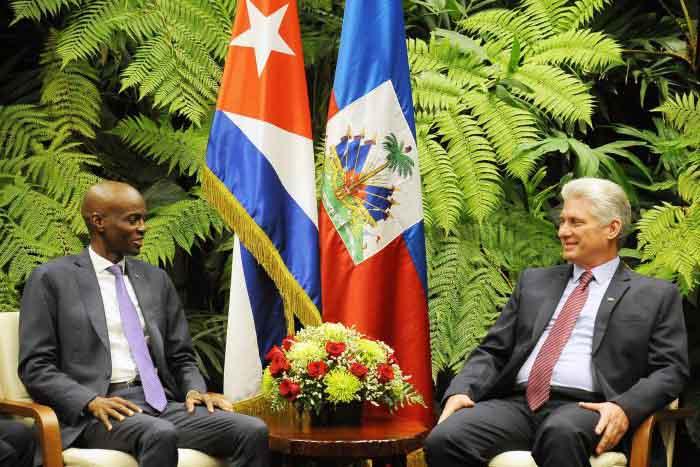 Cuba, Haití, Díaz-Canel