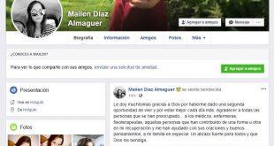 Accidente aéreo, Mailén Díaz Almaguer