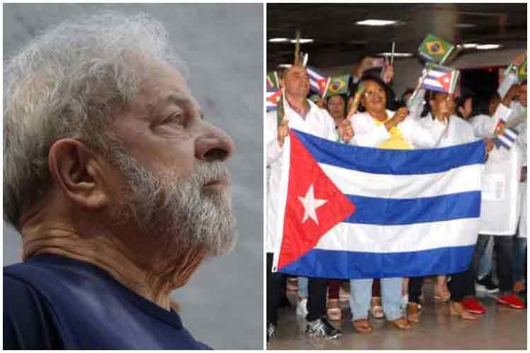 Lula, Brasil, Cuba, Más Médicos