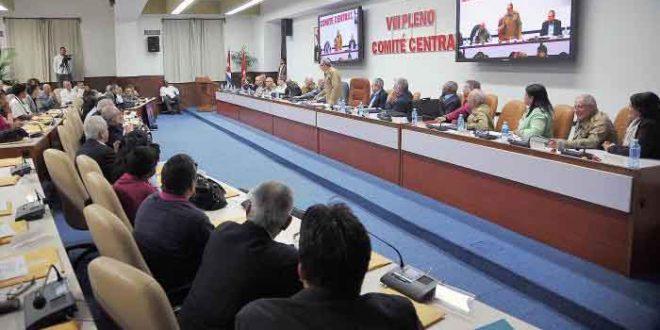 Partido Comunista, Pleno, Cuba, Constitución