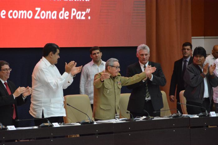 Alba, Raúl Castro, Nicolás Maduro, Díaz-Canel