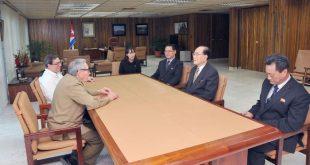 Raúl Castro, Cuba, RPDC