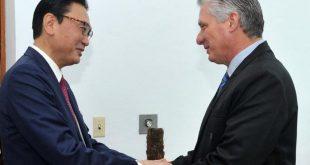 cuba, japon, presidente de cuba, miguel diaz-canel