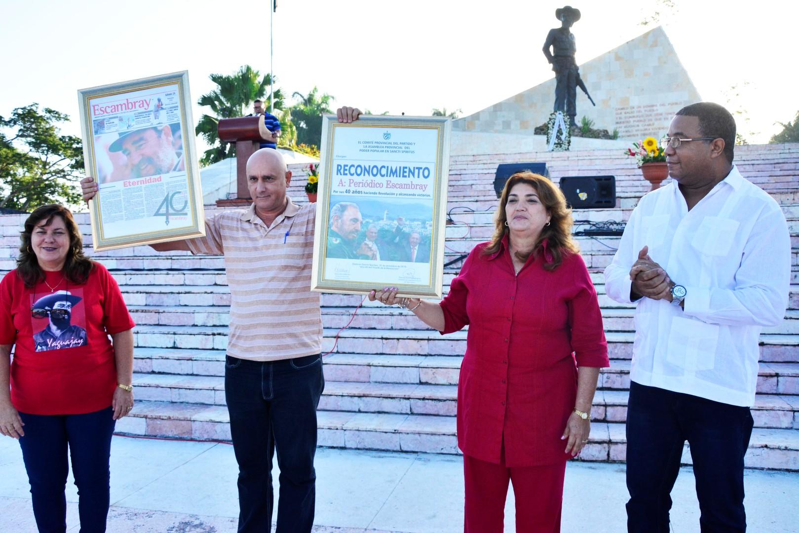 Yaguajay, Escambray, Revolución, triunfo, Sancti Spíritus