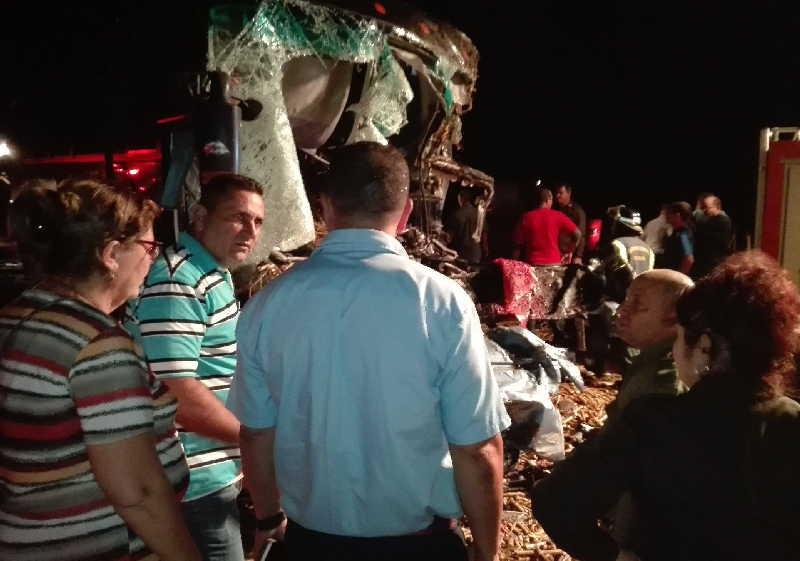accidente de transito, Jatibonico, Hospital Provincial, Sancti Spíritus