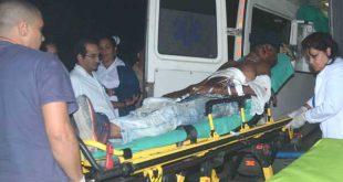 Los servicios de emergencia de la provincia se encuentran activados para socorrer a los heridos