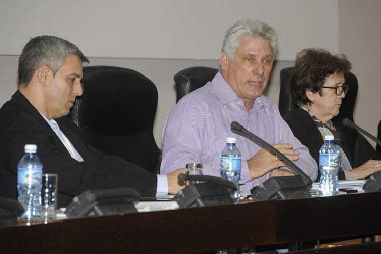 cuba, parlamento cubano, asamblea nacional del poder popular, informatizacion de la sociedad, mjiguel diaz-canel, presidente de cuba
