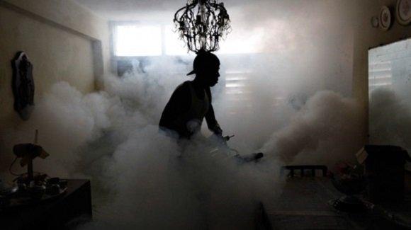 Dengue, Sancti Spíritus, fumigación, Parlamento, Minsap