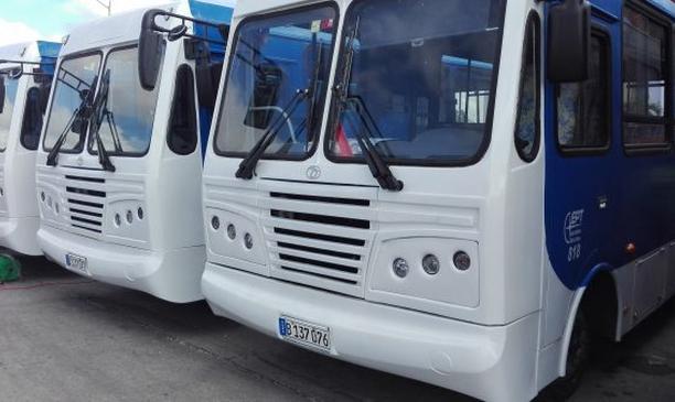 sancti spiritus, omnibus diana, transporte urbano, yutong