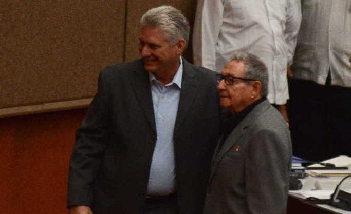 cuba, asamblea nacional del poder popular, raul castro, miguel diaz-canel, parlamento cubano, presidente cubano
